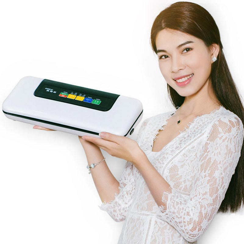 YTK Vacuum Sealer Home Best Fully Automatic Mini Portable Household Food Wet Dry 38.5*15.5*7.5cm 120W Packaging Machine Sealing цена