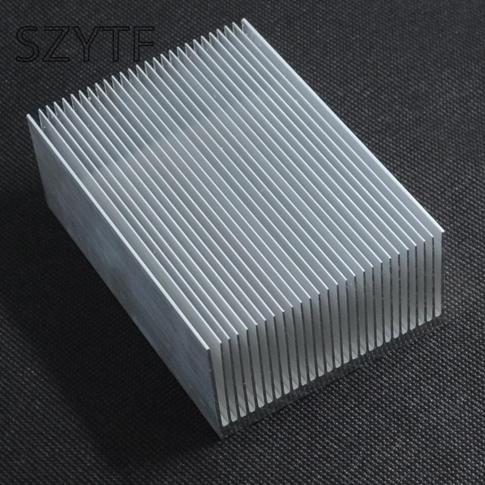 Теплоотвод 100*69*36 мм (серебро) высокого качества ультра-толстые алюминиевый радиатор