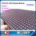 Одноцветные red светодиодный модуль p10 реклама экран вывеска модуль светодиодный дисплей модуль светодиодный знак открыть панель led дисплей 320*160 мм