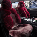 Special fur car seat covers For Peugeot 307 206 308 407 207 406 408 301 3008 5008 508 2008 208 car accessories styling bla