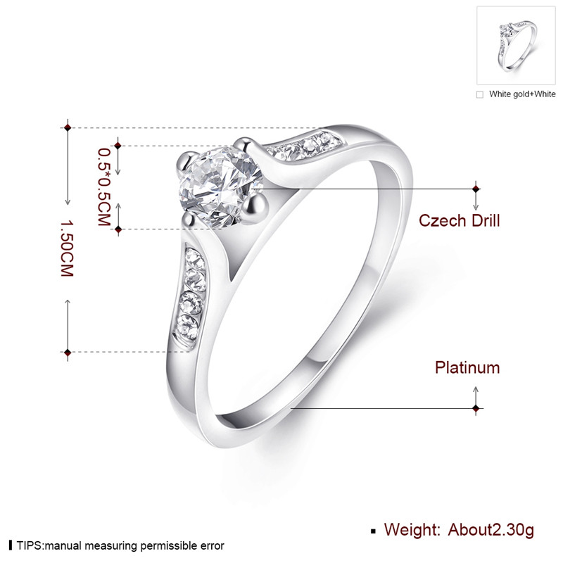KJ-AKR019, KimJ fashion classic ring, Silver color with top AAA Brilliant cz Ring. classic Best for gift, Christmas, party