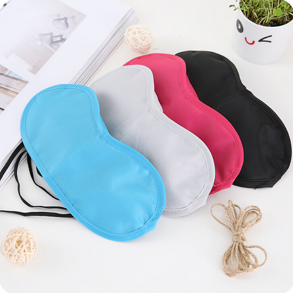 6e9849cabb0 Hot 1 PCS Travel Sleep Rest Sleeping Aid Mask Eye Shade Cover Comfort  Blindfold Shield Masks