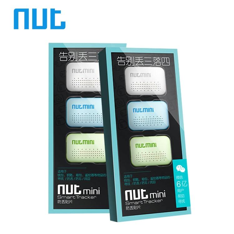 imágenes para 3-pack nut mini 3 smart bluetooth perseguidor anti-perdida buscador de alarma cartera Perdida Recordatorio Etiqueta Itag Clave niños niño Localizador GPS localizador