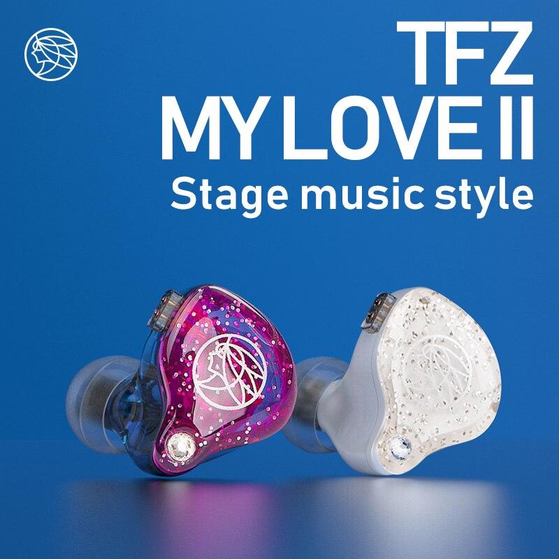 La cithare parfumée/MYLOVE II, écouteurs Hifi écouteurs intra-auriculaires, écouteurs de sport TFZ Neckband, téléphones auriculaires de haute qualité pour téléphone