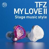 The Fragrant Zither/ MYLOVE II, Hifi Earphone In ear Bass Headset, TFZ Neckband sport earphone,High Quality Ear phones for Phone