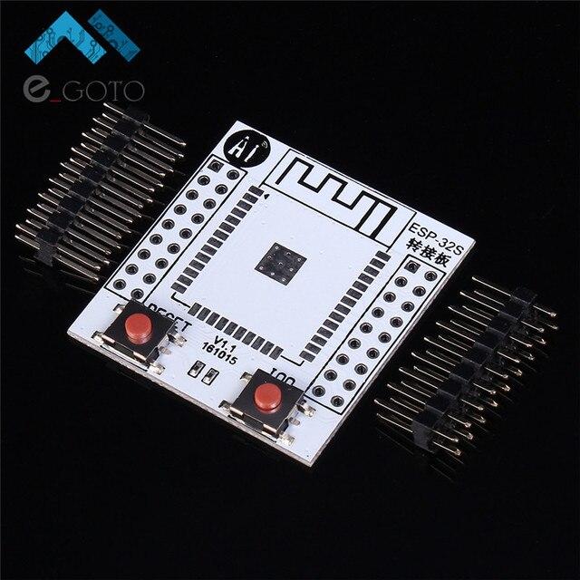 3pcs ESP-32S Pinboard Convertor Module ESP32S Adapter Board Support for ESP-32S Wireless WIFI Bluetooth Module