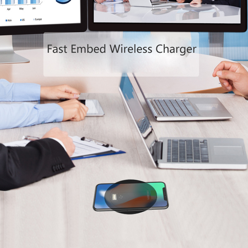 Embed Desktop Fast Wireless Charger