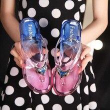 Вьетнамки; женские сандалии; женские шлепанцы; нескользящая пляжная обувь; Новинка года; модная летняя обувь на плоской подошве; женская обувь для ванной; большие размеры