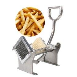 Idealne frytki chipsy ziemniaczane Fry Cutter warzywa naturalne francuski Fry Cutter urządzenie do krojenia warzyw i owoców krajalnica narzędzie Ovoshterezka w Ręczne krajalnice do frytek od Dom i ogród na