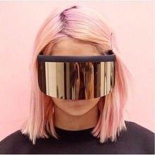 MINCL/ женские крупные солнцезащитные очки большие мужские Квадратные Солнцезащитные очки прозрачная оправа винтажные Ретро Солнцезащитные очки женские мужские FML