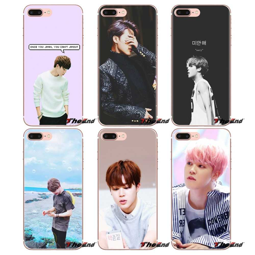 Bangtan Boys JIMIN SUGA плакат мягкие прозрачные чехлы для samsung Galaxy S3 S4 S5 Mini S6 S7 Edge S8 S9 S10 Plus Note 3 4 5 8 9