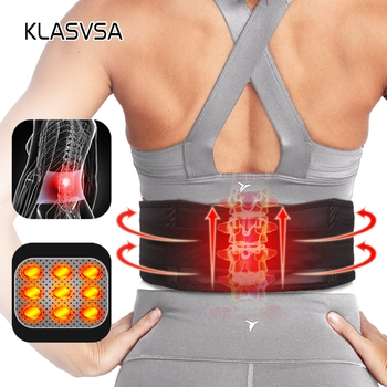 1piece Tourmaline Magnetic Self-heating Belt For The Back Tourmaline Waist Product Therapy Ceinture Support Brace lumbar Massage