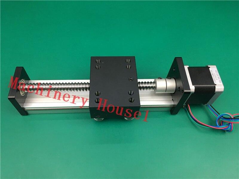 SGK 1605 800MM 1605 ball screw slide module Slip-way+ 1pc nema 17 Stepper Motor