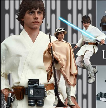 1/6 scale film figure doll Star Wars Episode IV A New Hope Luke Skywalker 12 action figure doll Collectible model plastic toys аксессуары для акустики episode es 500 iwlcr 6
