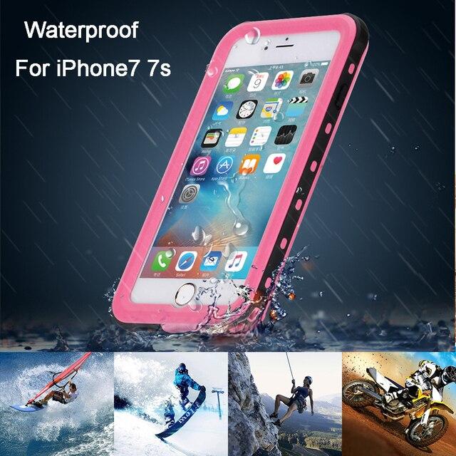 2017 Mais Novo de Alta Qualidade À Prova D' Água Caso Capa À Prova D' Água Mergulho Fotografia Ao Ar Livre Perfeito para iPhone7 7 s