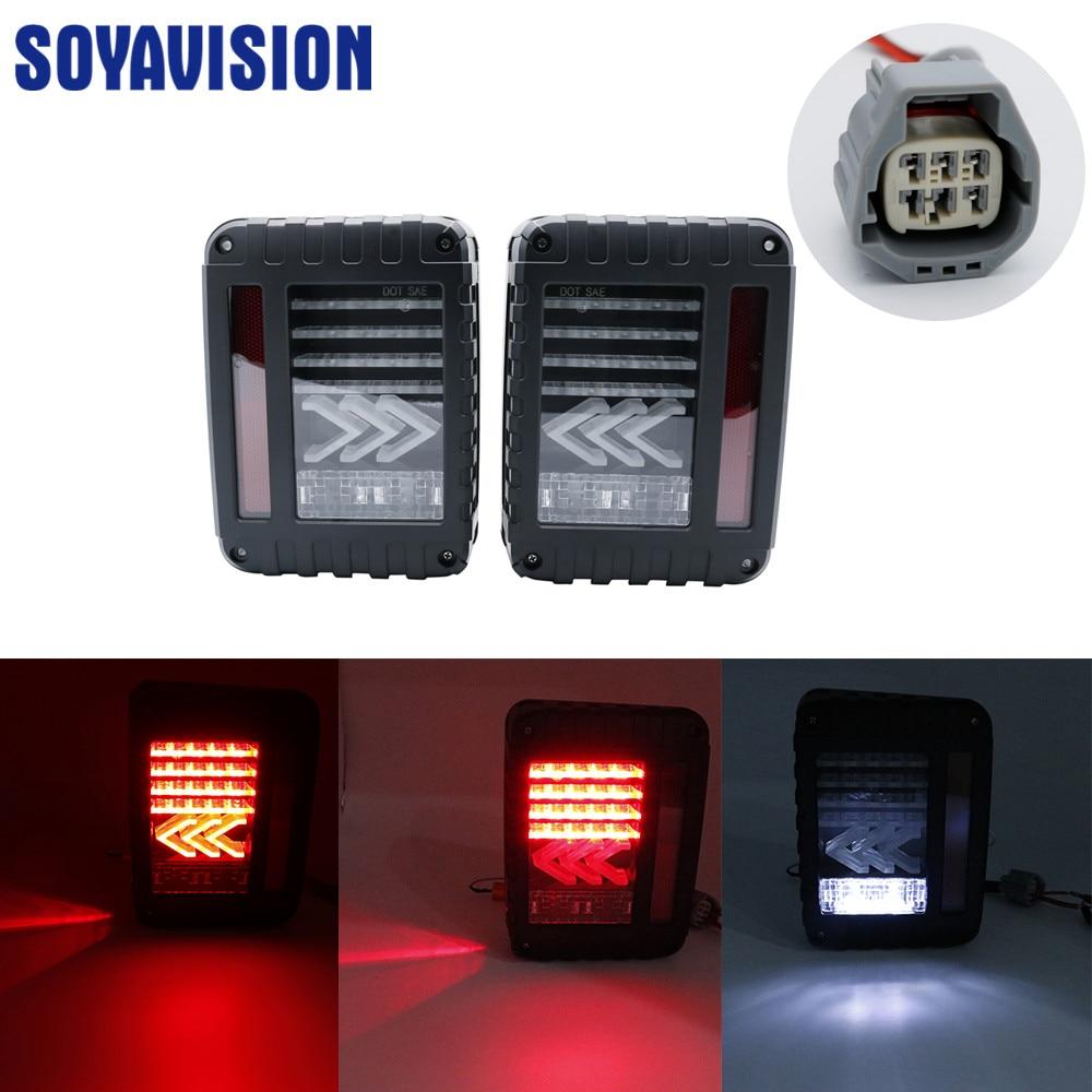Luz de marcha atrás del jeep luces de funcionamiento de la lámpara de señal