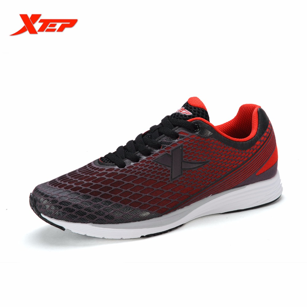 ФОТО XTEP 2016 Summer Running Shoes for Men Air Mesh Trainers Shoes Athletic Sports Training Shoes Men's Rubber Sneakers 986219113207