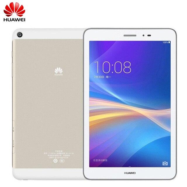 "8.0 ""Huawei Honor Планшеты 4 г LTE Android Телефонный звонок Планшеты PC Snapdragon MSM8916 4 ядра 16 ГБ Встроенная память 2 ГБ оперативная память 5.0MP Камера"