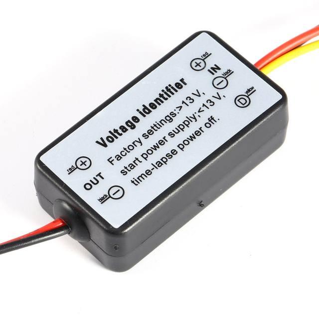 DRL Controller Auto Car LED Daytime Running Lights Controller Relay Harness Dimmer On/Off 12-18V Fog Light Controller