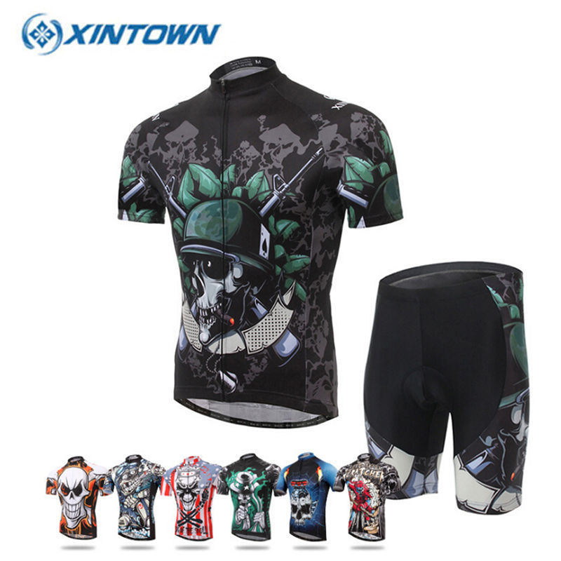 XINTOWN Summer Cycling Set 2018 MTB Bike Clothing M Racing Bicycle Clothes Maillot Ropa Ciclismo Cycling Jersey Sets xintown new 2018 spring cycling jersey set long sleeve 3d gel padded sets bike clothing mtb protective wear cycling clothes sets