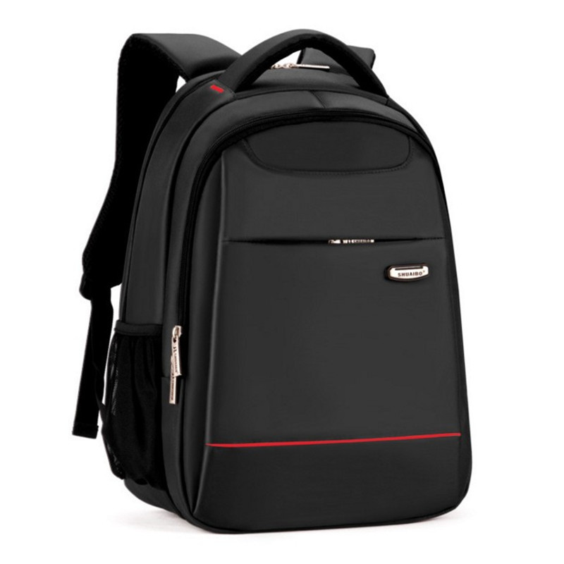 Hot double shoulder backpack male student business 15.6 inch notebook PC pack student large capacity travel waterproof back bag