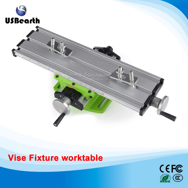 LY6300 multifunction Milling Machine Bench drill Vise Fixture worktable X Y-axis adjustment Coordinate table ly 6350 mini precision multifunction cnc router machine bench drill vise fixture worktable x y adjustment coordinate table