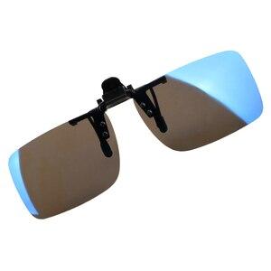YOSOLO سيارة سائق نظارات مكافحة UVA UVB نظارات شمسية مستقطبة القيادة للرؤية الليلية مشبك العدسات على النظارات الشمسية الداخلية اكسسوارات