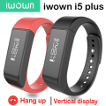 Original iwown i5 Plus Smart Bracelet  Wristband  Activity Tracker SmartBand Passometer Sleep Monitor for Android IOS Touchpad
