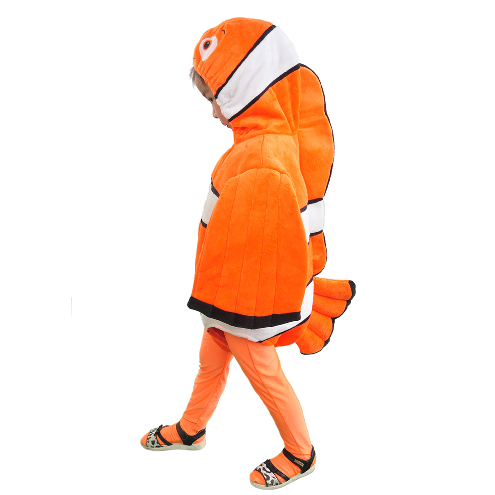 Finding Nemo Costume Toddlers Fancy Dress Clownfish Baby Romper Cute Nemo Outfit Sea Animal Mascot Costume For Kids Onesie Kids