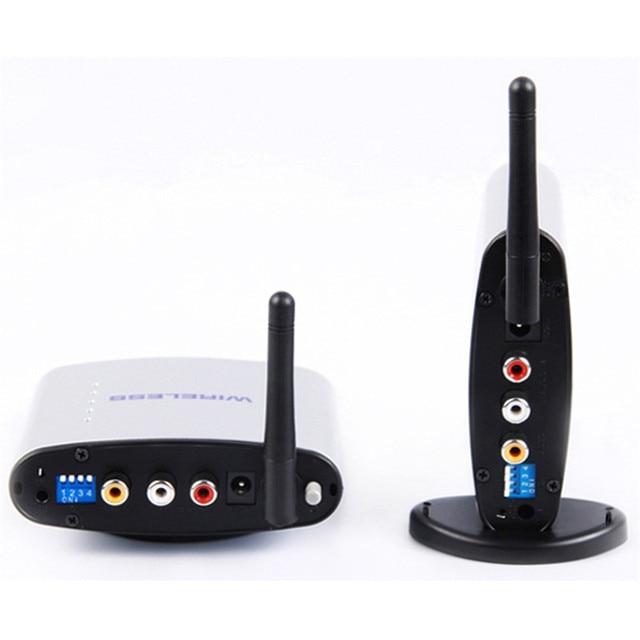 PAT-220 150 M 2.4 GHz Digital STB Dispositivo de Compartilhamento Sem Fio A/V Transmissor Receptor de Áudio e Vídeo de Áudio e Vídeo RI extensor para PAT220