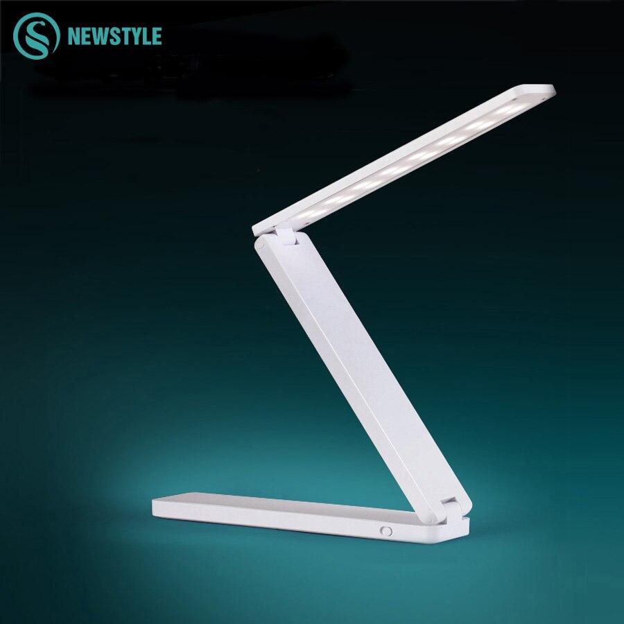 New Folding Usb Led Desk Lamp Eye Protection Adjustable