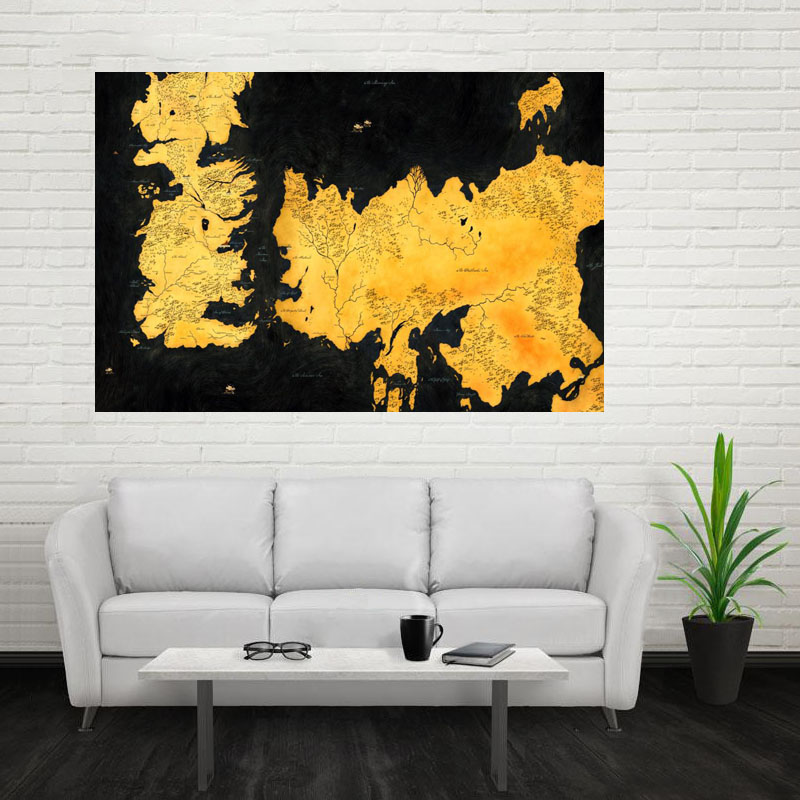 Magnificent Game Of Thrones Wall Decor Motif - Wall Art Collections ...