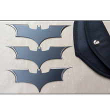 with Bag 3pcs/lot 15cm NECA DC Comics Batman Arkham The Dark Knight Metal Batarang Replica Action Figure