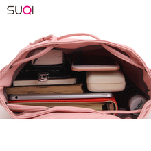 Fashion Korean Female Mini Backpack