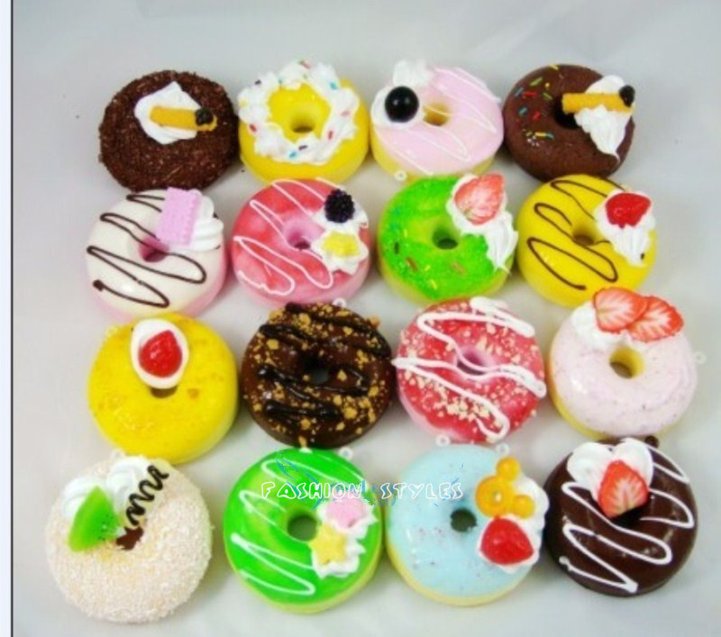 High artificial food dessert donuts model props high for Artificial bread decoration