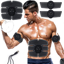 EMS Wireless Muscle Stimulator Trainer Exerciser Device Loss Weight Slimming Training Massager Electric Belly exercises Machine