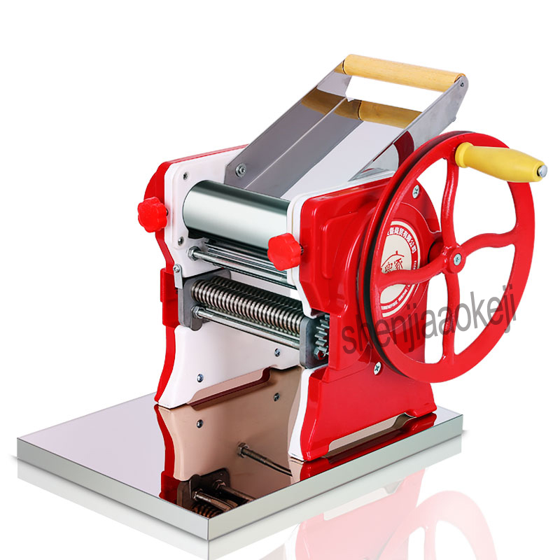 manual pasta noodles maker machine stainless steel Pasta Machines Pressing dough wide or round noodles household
