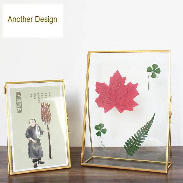 plant specimens frames figurines home decor 5inch6inch7inch8inch natural wood and - Natural Wood Frames