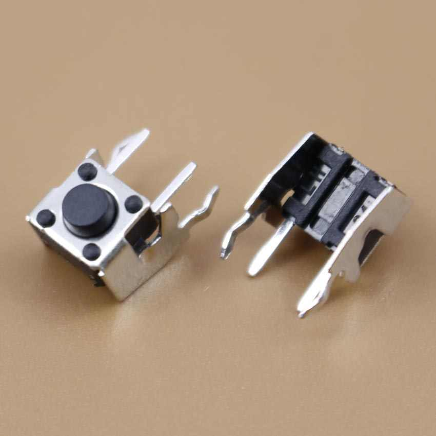 YuXi 1 pcs Kebijaksanaan Switch Push Button 6*6*5 6mm * 6mm * 5mm H5mm Kanan Angle