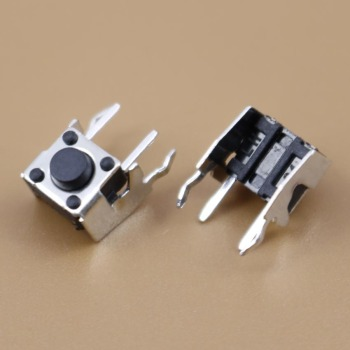 YuXi 1pcs Tact Switch Push Button 6*6*5 6mm*6mm*5mm H5mm Right Angle image