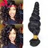 Top 8A Peruvian Virgin Hair Loose Wave 3Bundles Unprocessed Loose Curly Weave Human Hair Peruvian Loose Wave Virgin Hair Bundles