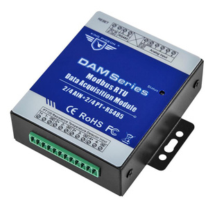 Image 1 - Industrial Grade Remote IO Module RTU for Industrial Energy Monitor & Flow Meter AIN+Temperature Modbus RTU Remote IO DAM124