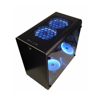 PC Gamer Case Tower Cooling Cabinet Computer Mini Empty Chassis All aluminum ATX/MATX Motherboards Transparent Dust Proof Best
