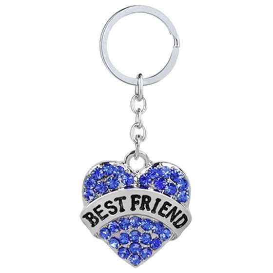 da20a9d51500 Hermana de la familia de diamantes de imitación de plata Corazón de cristal  mamá NANA enfermera