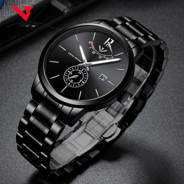 591dd3d0275 NIBOSI Relogio Masculino Relojes Watch Mens Watches Top Brand Luxury Sport  Quartz Watch Waterproof Wristwatch 2318-in Quartz Watches from Watches on  ...