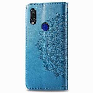 Image 3 - Voor Xiaomi Redmi 7 Case Redmi 7 Cover PU Leather Flip Case Luxe Portemonnee Capa Boek Cover Card Slot Voor xiaomi Redmi 7 Telefoon Tas