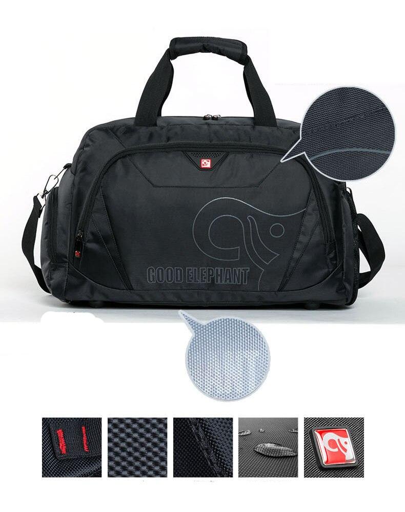 2c1ea05a06bc Quality Large Capacity Sports Gym Bag Men Women Fitness Bag Shoe Storage  Basketball Sport Bag Outdoor Travel Shoulder Bag HAB511