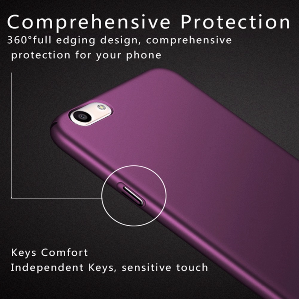 cheap for discount e5b40 29fdf Fitted Cases For OPPO A59 And F1S Case Full Cover Ultra Thin 360 Protection  Hard Phone Back Cover Case For OPPO A59 F1 S A1601