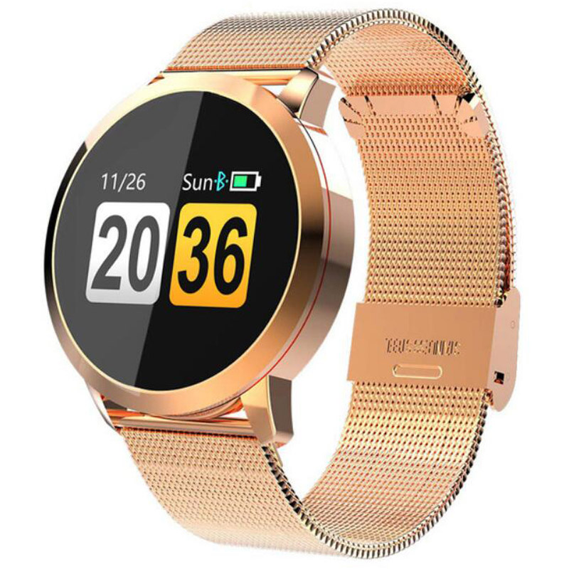 Fitness Smart Watch Women Men Heart Rate Monitor Blood Pressure Pedometer OLED Touch Health Running Sport Watch For IOS Android Fitness Smart Watch Women Men Heart Rate Monitor Blood Pressure Pedometer OLED Touch Health Running Sport Watch For IOS Android