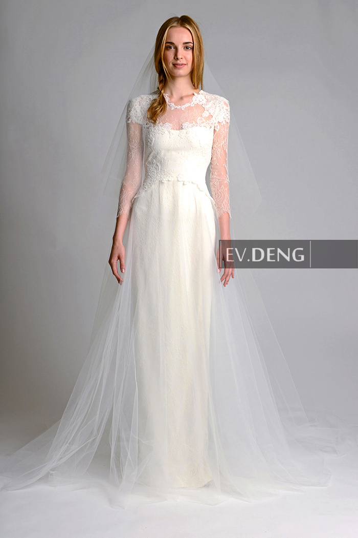 Sleeves A-line Appliques Vestido De Noiva Casamento Lace 2018 Hot Sale Bridal Gown Robe De Mariage Mother Of The Bride Dresses